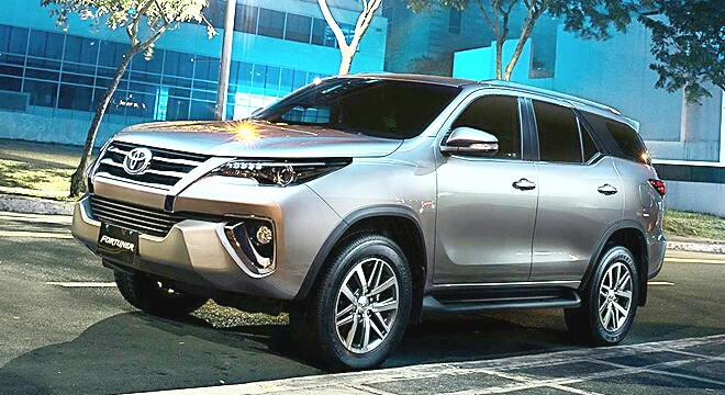 Toyota Fortuner 2018 Alpha Squad Official