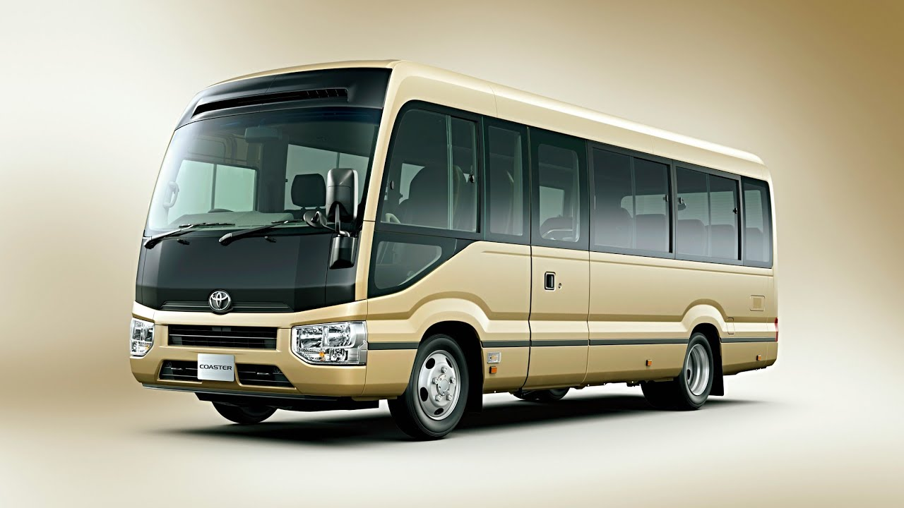 toyota coaster  alpha squad official