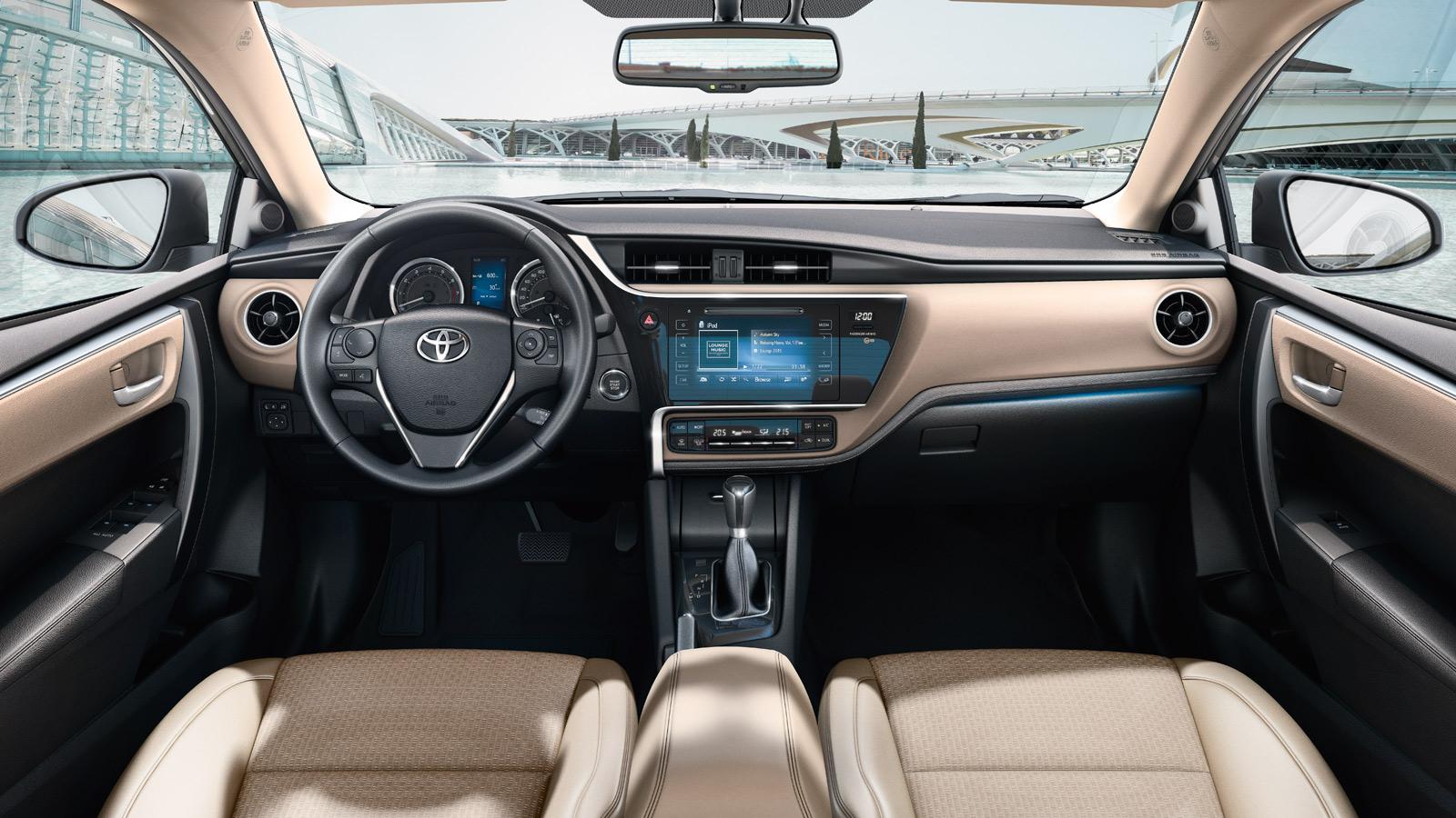 2017 Toyota Corolla Interior Images